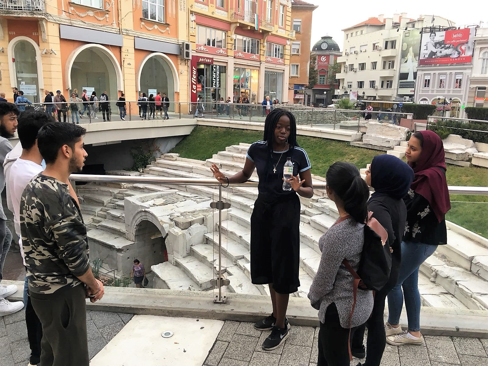 tour of plovdiv for students studying medicine in europe
