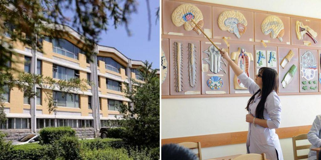 University of Traditional Medicine for students that want to study medicine in Armenia